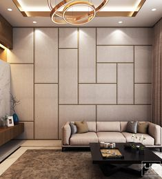 Luxury Modern Villa - Qatar on Behance Drawing Room Interior, Interior Walls, Living Room Interior, Home Room Design, Home Interior Design, Living Room Designs, Wall Panel Design, Luxury Homes Interior, Living Room Modern