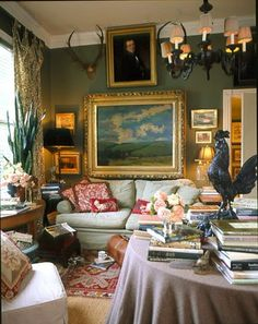 Beautiful sitting room by P. Allen Smith