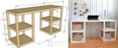 5 Helpful Resources For Building Your Own Desk | Including where to find great legs, and how to accessorize after you build!