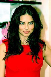 Adriana Lima <3 30 year old, brazilian Victoria Secret Model. My #1 model crush.