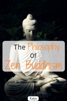 Zen Buddhism is a Buddhist philosophy that originated in China, but is now closely associated with Japan. The point is to find mindfulness through deep meditation practice. There is a large degree of spirituality and consciousness associated with it, ho What Is Zen Buddhism, Zen Buddhism Quotes, Japanese Buddhism, Japanese Philosophy, Buddhist Philosophy, What Is Philosophy, Eastern Philosophy, Meditation Images, Easy Meditation