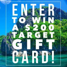 Enter the $200 Target gift card giveaway on tobebright.com