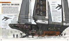 concept ships: STAR WARS Saturday: Imperial Shuttle SW-0608 by Kemp Remillard