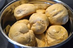 These delicious yeast rolls only take one hour from start to finish. The dough can be shaped into hot dog buns, hamburger buns, or even dinner rolls.