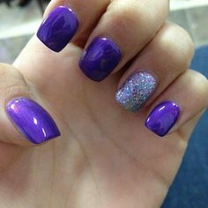 Black cap on the silver nail similar to the green nails on my graduation board ... green for Mara and purple for Abi
