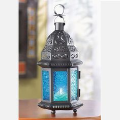 Moroccan Lantern Blue, $5, now featured on Fab.