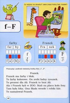 Użyj STRZAŁEK na KLAWIATURZE do przełączania zdjeć Learn Polish, Polish Language, My Childhood, Letters, Crafty, Education, Learning, Kids, Speech Language Therapy