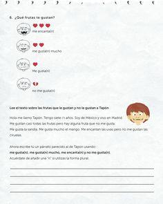 61 Best Spanish Worksheets For Kids Images Spanish Worksheets