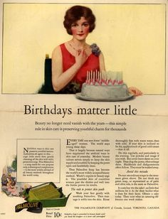 Palmolive Company's Palmolive Soap – Birthdays matter little (1926)