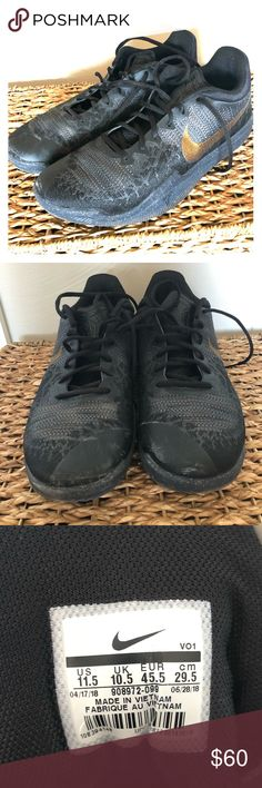 Motivated Nike Basketball Shoes Size 8.5 Men Athletic Shoes Worn Once