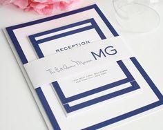Wedding Invitation, Modern Wedding Invitation, Modern Wedding Invitations, Wedding Invites - Modern Luxe Design - Deposit to Get Started on Etsy, £63.32