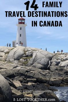 Family Travel Destinations Canada - incredible travel ideas from Halifax to Niagara Falls to Vancouver and from the mountains to the lakes to the National Parks.  #Canada #familytravel #niagarafalls #Vancouver #Toronto #Halifax