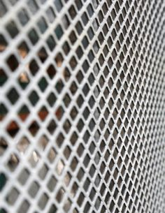 Expanded Metal And Wire Mesh Balustrade Staircase