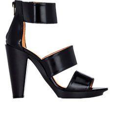 Robert Clergerie Xima Triple-Band Sandals