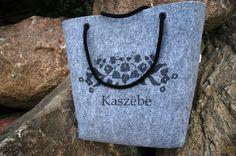 ShopperBag szara w ankacyganka.pl na DaWanda.com