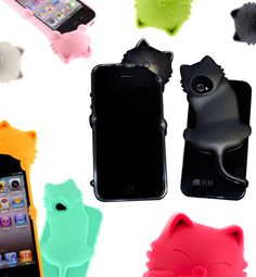 Kitty Iphone cases. #cat #phone #case what about android?! I want one!