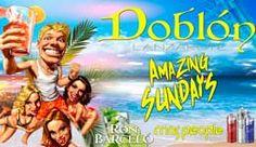 Domingos de fiesta en verano con Amazing Sundays en Doblón Gran Hotel
