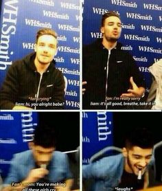 Two types of people... if liam called me babe i would fall down 13 flights of stairs and not even care