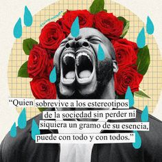 """""""Who survives the stereotypes of society without losing even one gram of its essence, can with everything and everyone. Self Love Quotes, Words Quotes, Life Quotes, Quote Collage, Collage Art, Street Quotes, This Is Your Life, Mo S, Spanish Quotes"""