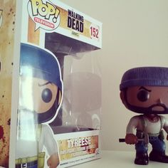 Here's my Tyreese! #thewalkingdead #tyrese #twdfamily #twd #popvinyl #pop #collection