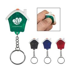 Promotional House Shape Led Key Chain A Great Promo Gifts Ideas That Make Real Estate