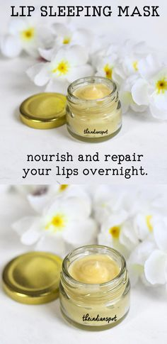 Dry and chapped lips can restrict you from using matte lipsticks and can also cause bleeding if peeled. Dry and chapped lips aren't something we appreciate and there are a lot of lip balms and masks t Diy Lip Mask, Diy Face Mask, Face Masks, Homemade Beauty, Diy Beauty, Beauty Hacks, Beauty Ideas, Beauty Tips, Beauty Products