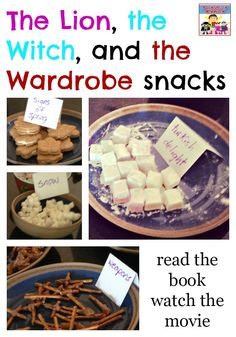 The lion, the witch, and the wardrobe -- book, movie, activity, snack