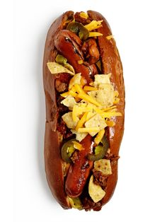 Food Network Magazine dreamed up so many hot dog toppings, you'll never have to eat a naked one again.