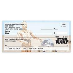 Star Wars checks - C3PO and R2D2 the best buddies!! #aff