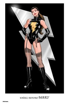Mary Marvel by Kevin Maguire *