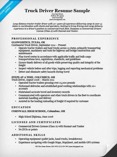 Resume Samples For Truck Drivers Good Resume For A Welder  Specialist's Opinion  Slot Machines .