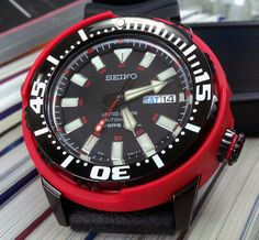 """Seiko SRP233K Tuna-like divers. $672. I wish they hadn't stamped """"LIMITED EDITION"""" on them. They're rare, we get it."""