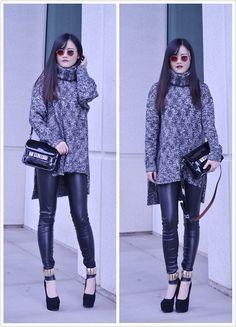reebok classic leather denim inspired leggings
