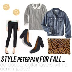fall trends to try: peter pan collar!