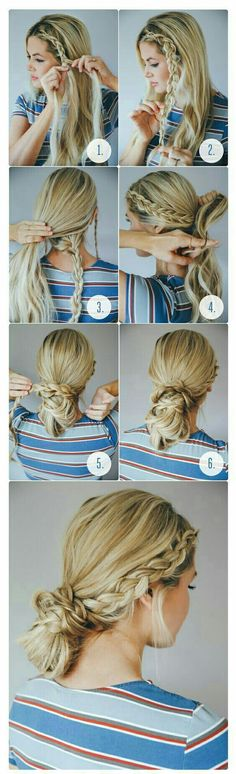 Te prometemos que lucirás muy linda con estos #Peinados con #trenzas, conoce el #pasoapaso aquí.