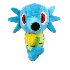"Generic Horsea Dragon Pokemon Character Water Type Plush Toy Stuffed Animal Seahorse Soft Figure Doll 6.5"""