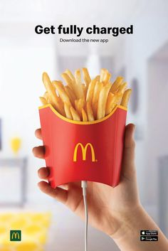 Outdoor advertisement created by TBWA, Malta for McDonald's, within the category: Food. Ads Creative, Creative Posters, Creative Advertising, Print Advertising, Print Ads, Fast Food Advertising, Food Graphic Design, Food Poster Design, Restaurant Advertising