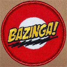 Bazinga Patrol Patch (#637)
