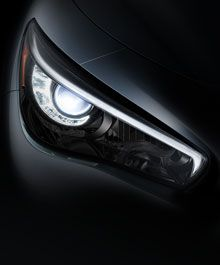 The All-New Infiniti Q50 luxury sport sedan unveiling January 14