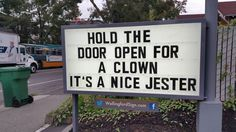 Funny sign in Seattle, Washington -photo by Wallingford Sign, via boredpanda