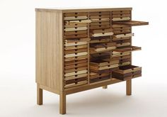 Contemporary Chest of Drawers Storage Furniture Design, Sixtematic by Sixay « Contemporary « Style « DesignWagen
