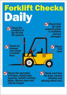 Forklift Safety Posters – Safety Poster Shop – Page 2 Safety Talk, Safety Meeting, Fire Safety, Health And Safety Poster, Safety Posters, Safety Pictures, Safety Slogans, Safety Message, Safety Topics