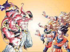 Dragon Ball Z Majin Boo