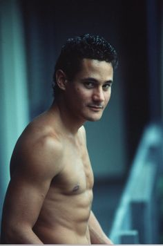 Greg Louganis, Mens' Olympic Champion, Springboard and Platform Diving in the 1980's.