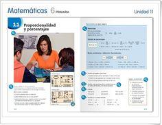 """Unidad 11 de Matemáticas de 6º de Primaria: """"Proporcionalidad y porcentajes"""""""