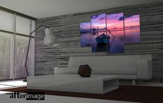 """""""Dreamer"""" seascape themed photography canvas prints. Perfect as a gift or buy them for your home or office decoration. From R600 for a set of 2 x canvasses including FREE delivery anywhere in South Africa. #art #wallart #photographyprints #photographyart #canvas #canvasart #walldecor #homedecoration #seascapes #sunset #naturephotography"""