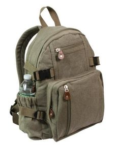 Rothco Olive Drab Vintage Compact Backpack *** Be sure to check out this awesome product.