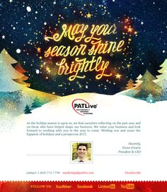 Christmas/Holiday email design