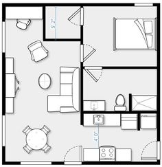 1000 images about floor plans on pinterest floor plans Garage conversion floor plans