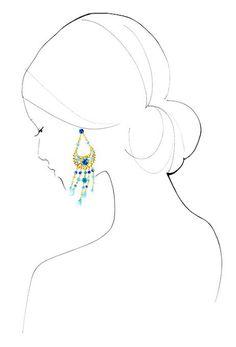 Yoco Nagamiya Fashion Illustrations